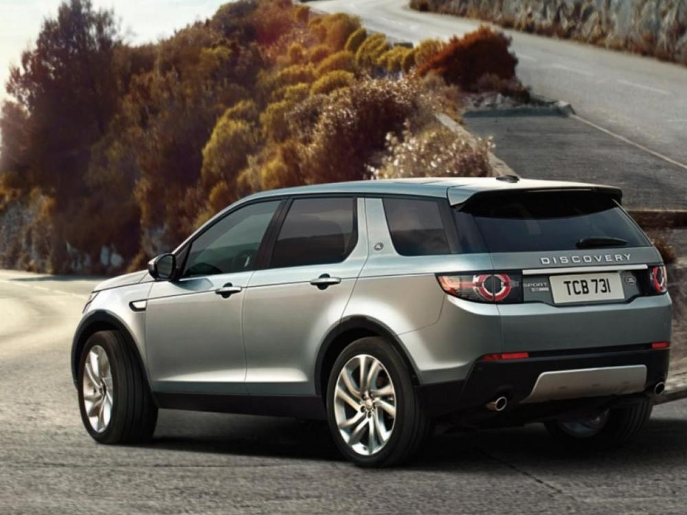 Land Rover New Discovery Sport